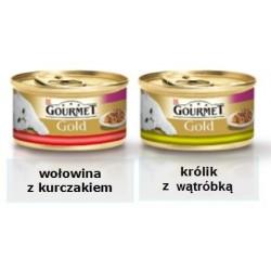 GOURMET GOLD Mix kawałków w sosie 85g puszka