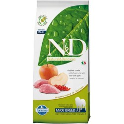 FARMINA N&D GRAIN FREE Adult Maxi Boar & Apple 12kg
