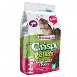 VERSELE LAGA Crispy Pellets Chinchillas & Degus