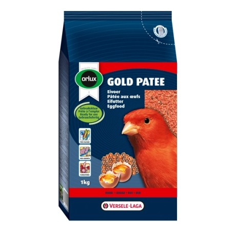 VERSELE LAGA Orlux Gold Patee Canaries Red