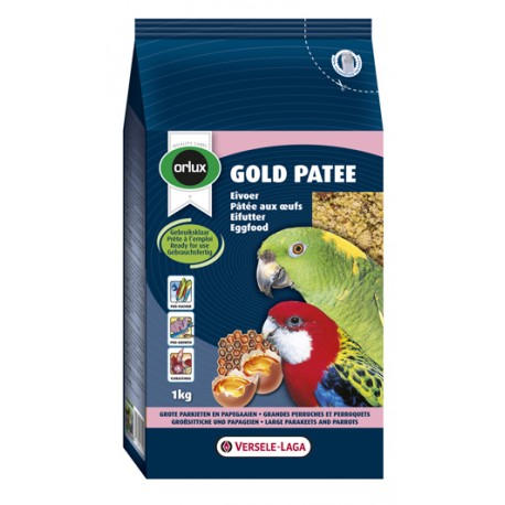 VERSELE LAGA Orlux Gold Patee Large Parakeets and Parrots