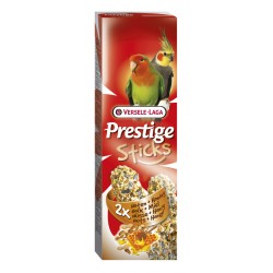 VERSELE LAGA Prestige Sticks Big Parakeets Nuts&Honey