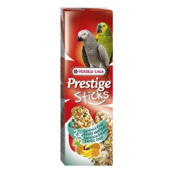 VERSELE LAGA Prestige Sticks Big Parakeets Exotic Fruit 140g