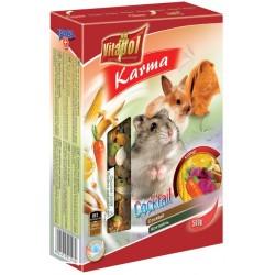 VITAPOL Pokarm owocowo - warzywny dla chomika i królika 340g