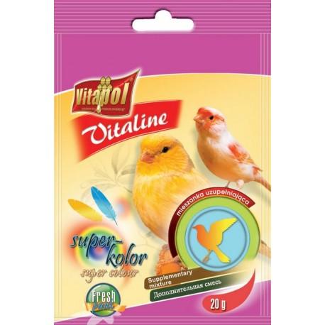 VITAPOL Vitaline super kolor dla kanarka 20g