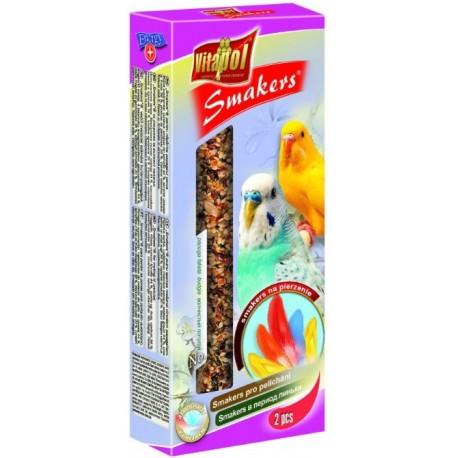 VITAPOL Smakers truskawkowy dla papużki falistej 2szt.