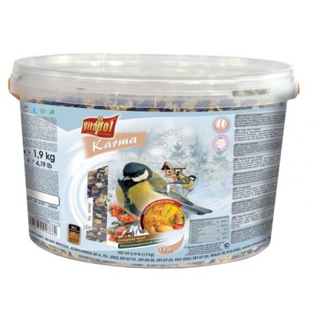 VITAPOL Pokarm uniwersalny dla ptaków zimujących 2,2kg