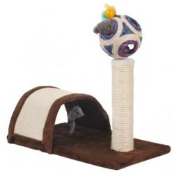 LOLO PETS Drapak stojący z budką i piłeczką