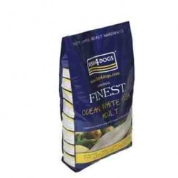 FISH4DOGS DOG Finest Ocean White Fish Mini