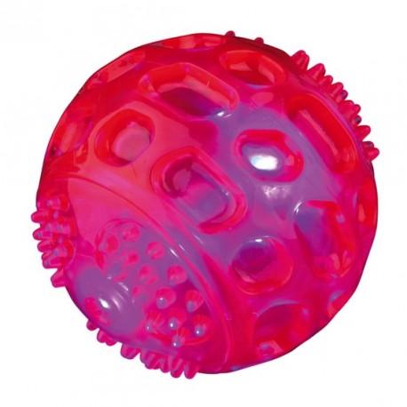 TRIXIE Zabawka Piłka świecąca z termogumy