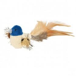 TRIXIE Zabawka Ptak z pluszowym ogonem