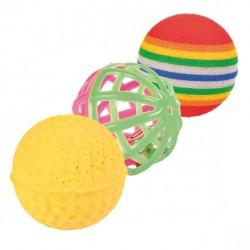 TRIXIE Zabawka Piłki bąbelkowe 4szt