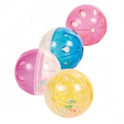 TRIXIE Zabawka Piłki z dzwonkiem 4szt