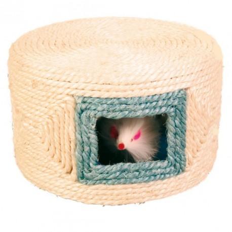 TRIXIE Zabawka Walec pluszowy z myszką dla kota