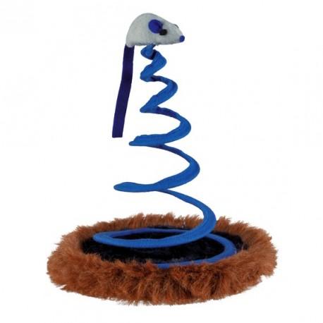 TRIXIE Zabawka Myszka na sprężynach dla kota