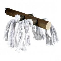 TRIXIE Drewniana żerdź ze sznurkami Natural Living
