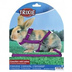TRIXIE Szelki ze smyczą dla małego królika