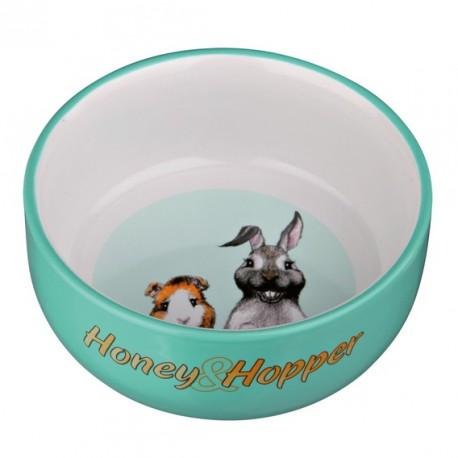 TRIXIE Miseczka ceramiczna Honey & Hopper