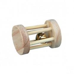 TRIXIE Rolka drewniana z dzwonkiem
