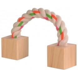 TRIXIE Piłka drewniana z dzwonkiem