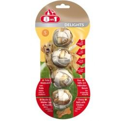 8in1 Delights Bone S 4szt kulki przysmak dla psa