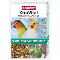 BEAPHAR XtraVital dla papug średnich 500g
