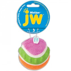 JW PET Mixups Ribbed Ball