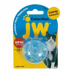 JW PET Myszka z ogonkiem z piorek