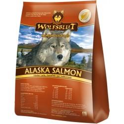 WOLFSBLUT Adult Alaska Salmon z łososiem, ziemniakami i brązowym ryżem