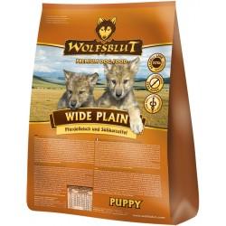 WOLFSBLUT Puppy Wide Plain z koniną i batatami