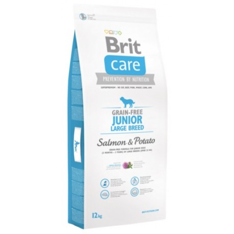 BRIT Care Dog Grain Free Junior Large Salmon&Potato