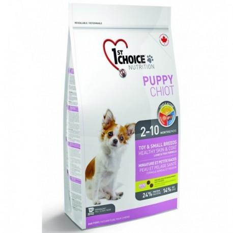 1st CHOICE DOG Puppy Toy&Small Healthy Skin & Coat Lamb & Fish