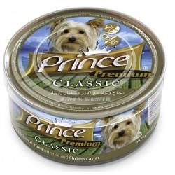 PRINCE DOG Premium Kurczak z tuńczykiem i kawiorem 170g puszka