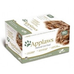 APPLAWS CAT Filety Selection 8x60g miseczka ZESTAW
