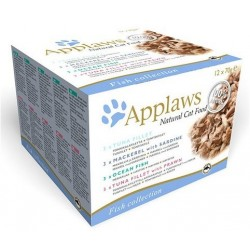APPLAWS CAT Filety MultiPack Chicken 12x70g puszka ZESTAW