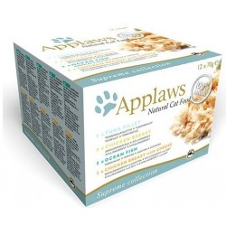 APPLAWS CAT Filety MultiPack Fish 12x70g puszka ZESTAW