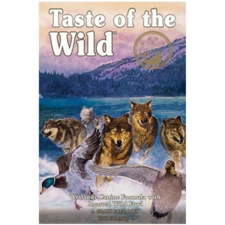 TASTE OF THE WILD DOG Adult Wetlands Wild