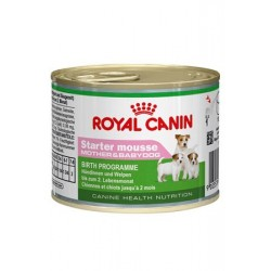 ROYAL CANIN DOG Mini Starter Mousse 195g puszka