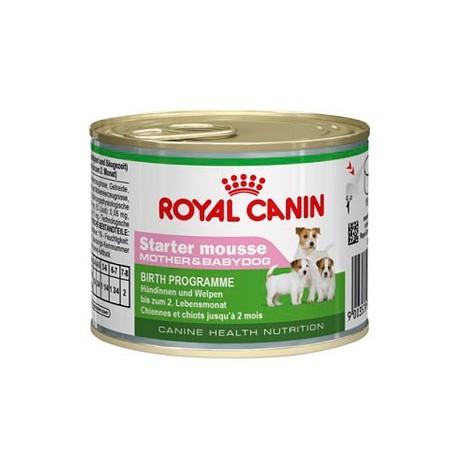 ROYAL CANIN DOG Mini Starter Mousse 195g puszka