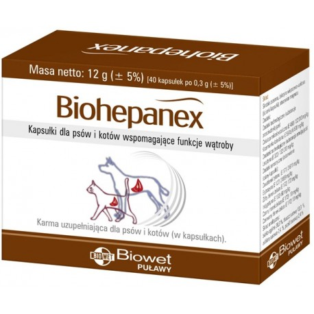 BIOWET PUŁAWY Biohepanex 40tab