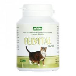 MIKITA CAT Felvital + tauryna 100tab.