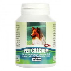 MIKITA DOG/CAT Pet Calcium 100tab.
