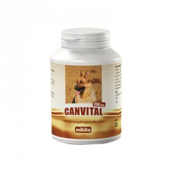 MIKITA DOG Canvital 150tab.