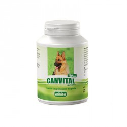 MIKITA DOG Canvital + karnityna 150tab.
