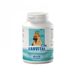 MIKITA DOG Canvital + tran 150tab.