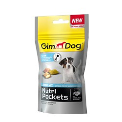GIMDOG Sport Snack Ham Bones 50g