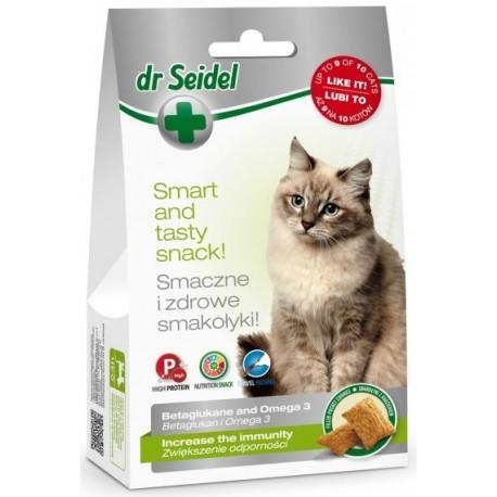 Dr SEIDEL Smakołyki na świeży oddech dla kota 50g