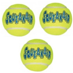 KONG Air Squeaker Tennis Ball 3szt