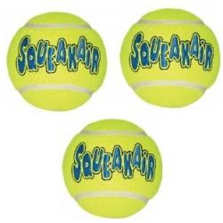 KONG Air Squeaker Tennis Ball 3szt