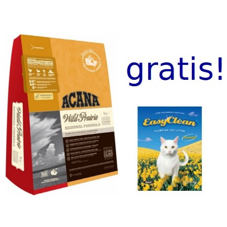 ACANA CAT&KITTEN Wild Praire 6,8kg + 3kg żwirku Easy Clean GRATIS PROMOCJA
